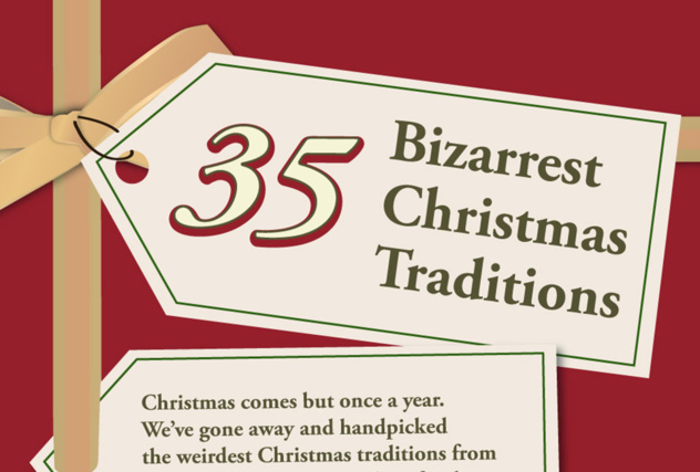 35 Bizarrest Christmas Traditions