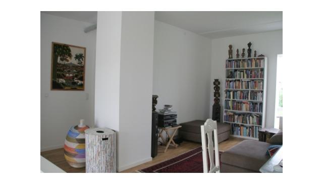 Modern futuristic Scandinavian architecture kibbutz-like community in Copenhagen