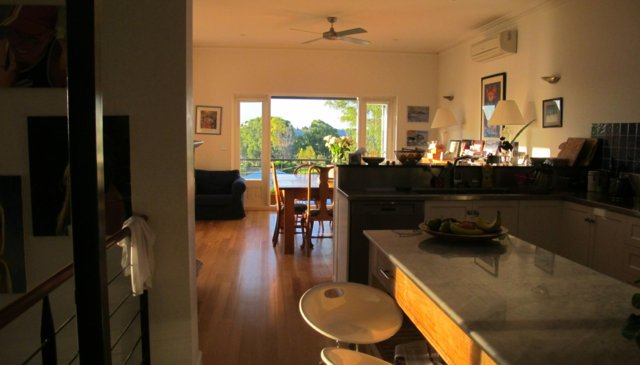 A beautiful family home, overlooking the Swan River and Indian Ocean.