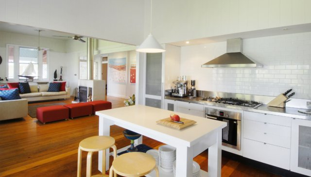 Award winning renovated white Queenslander