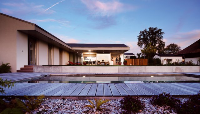 Contemporary architect designed house