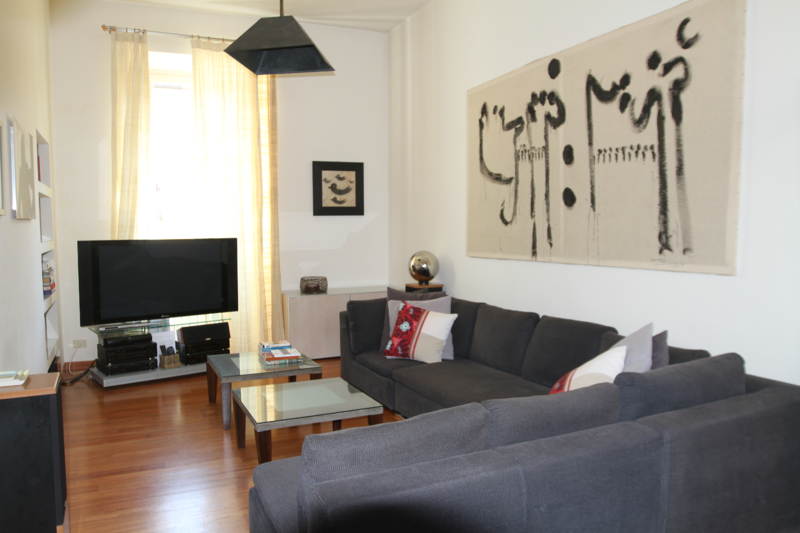 Designer decorated PH with huge terrace in the heart of downtown Rome.
