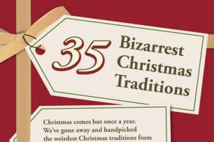 35 Bizarrest Christmas Traditions